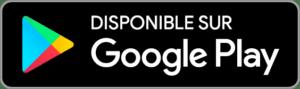 Bouton de téléchargement dans le Google Play