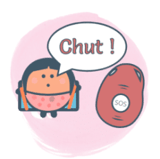 "Enfant disant ""chut"""