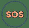 icône SOS